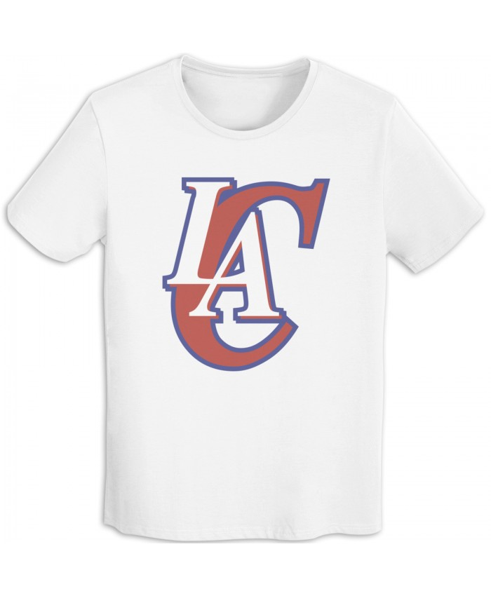 Greg Marshall Men's T-shirts Los Angeles Clippers LAC White