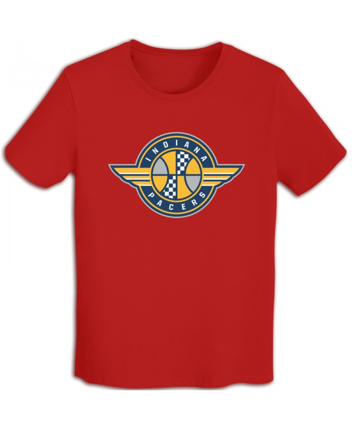 Okstate Basketball Men's T-shirts Indiana Pacers IND Red